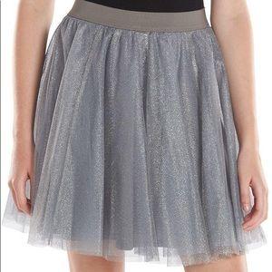 Lauren Conrad Metallic Tulle Skirt